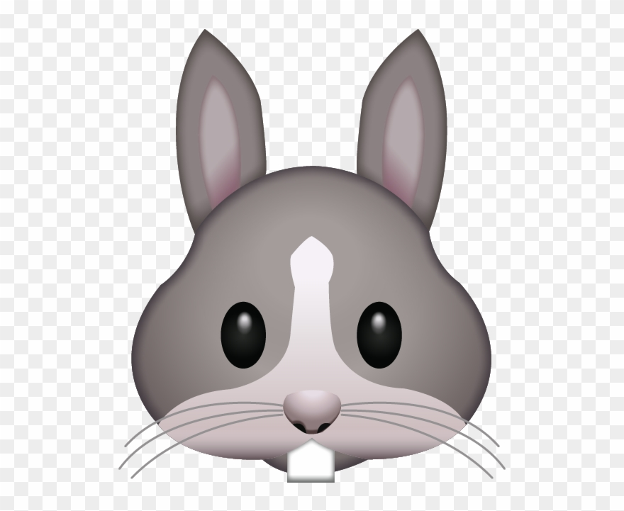 Download Rabbit Face Island Ai File Clipart (#2612368.