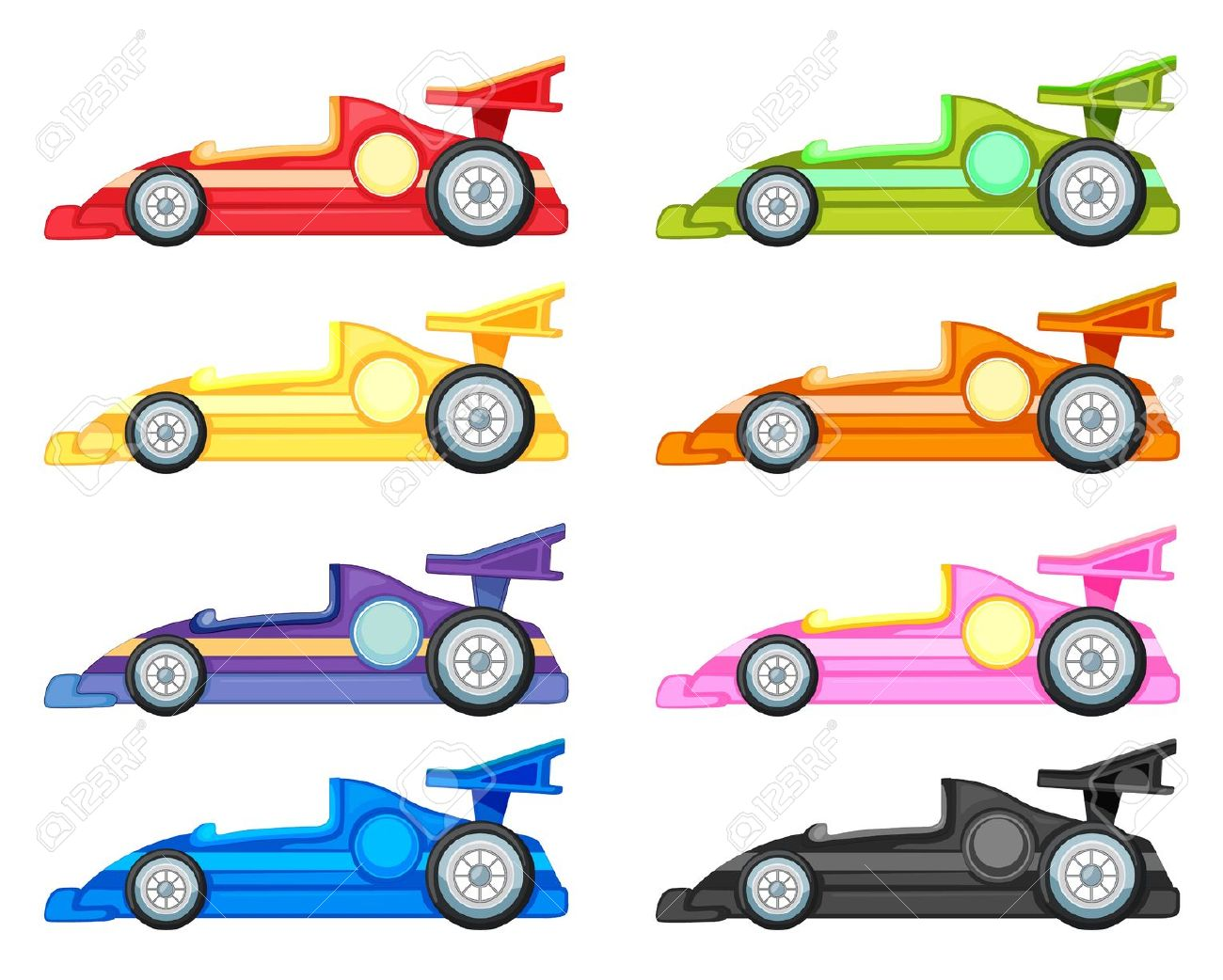 Race car clipart free clipartfest.