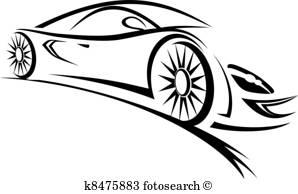 Racing Clip Art Vectors.
