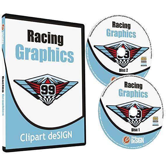 Racing Graphics Clipart.