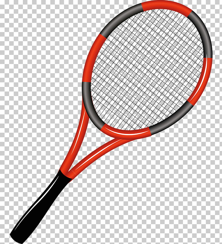 Rakieta tenisowa Racket , Cartoon tennis racket PNG clipart.
