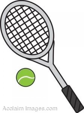 353 Tennis Racket free clipart.