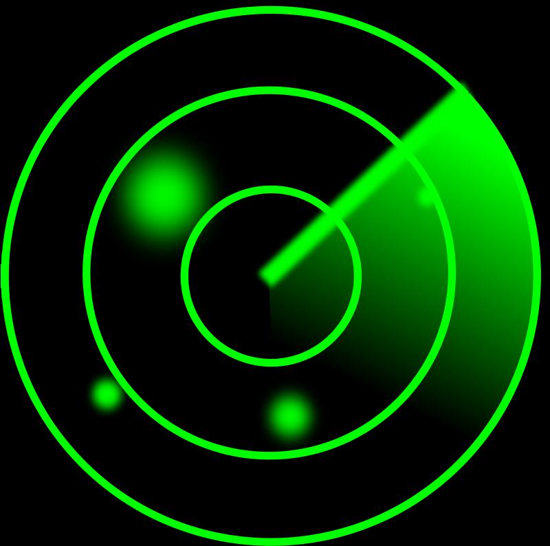 Free Clipart: Radar screen.