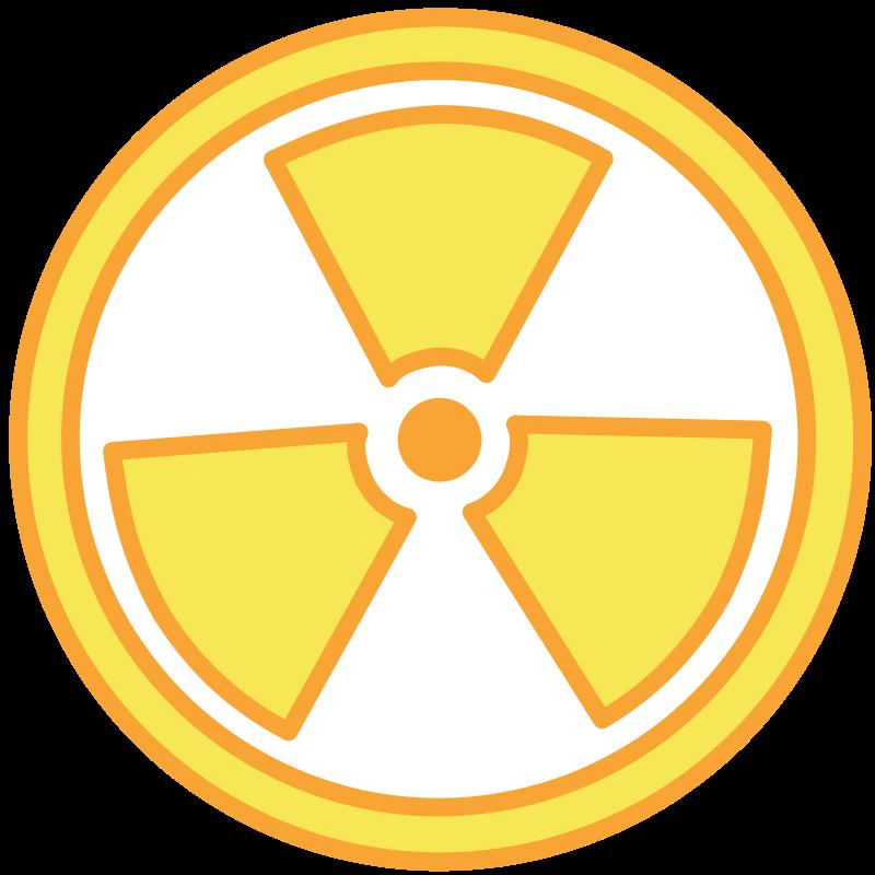 Free Clipart: Radioactive Warning.