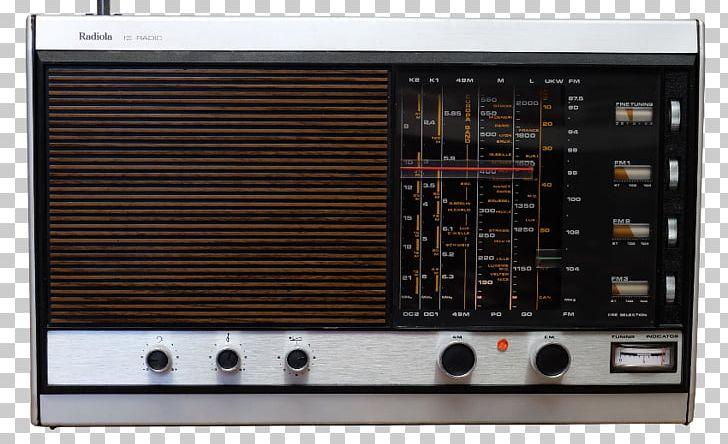 Radiola Radio Receiver Electronics Philips Transistor PNG.
