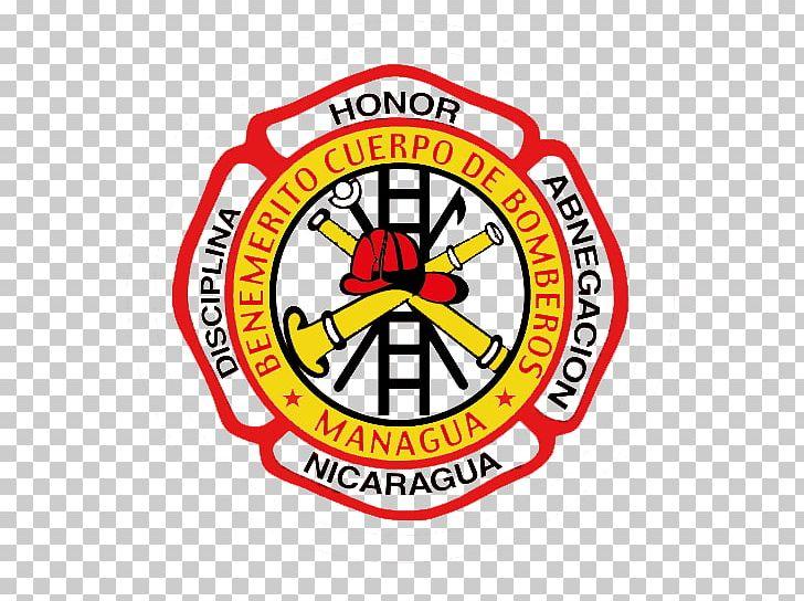 Firefighter Logo Radio La Primerisima Nicaraguan Social.