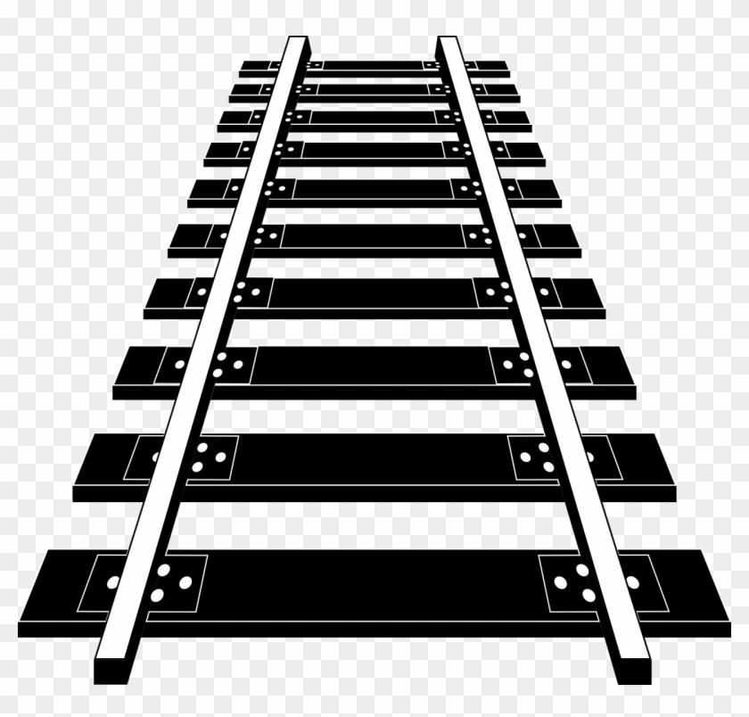 Railroad Tracks Png Image Free Download.