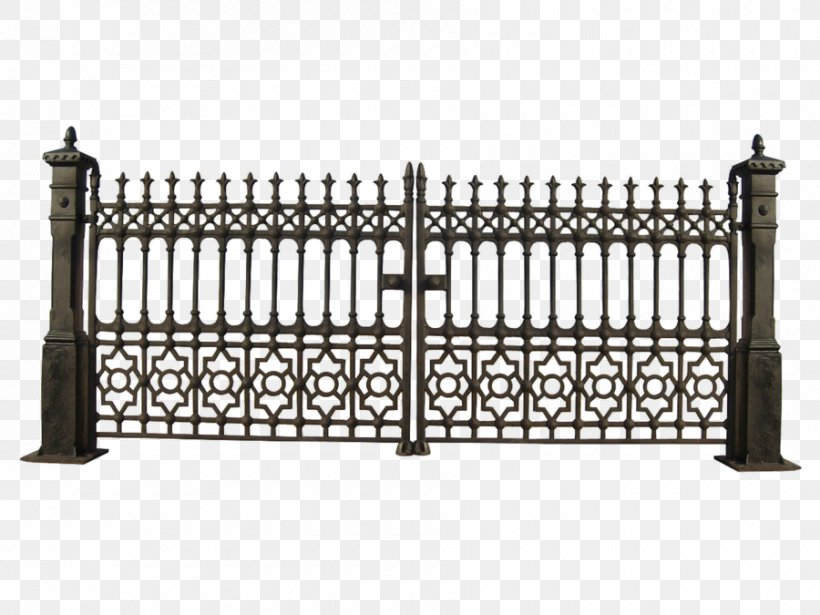 Gate Iron Railing Wrought Iron Clip Art, PNG, 900x675px.