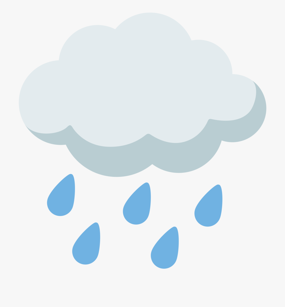 Emoji Clipart Rain.