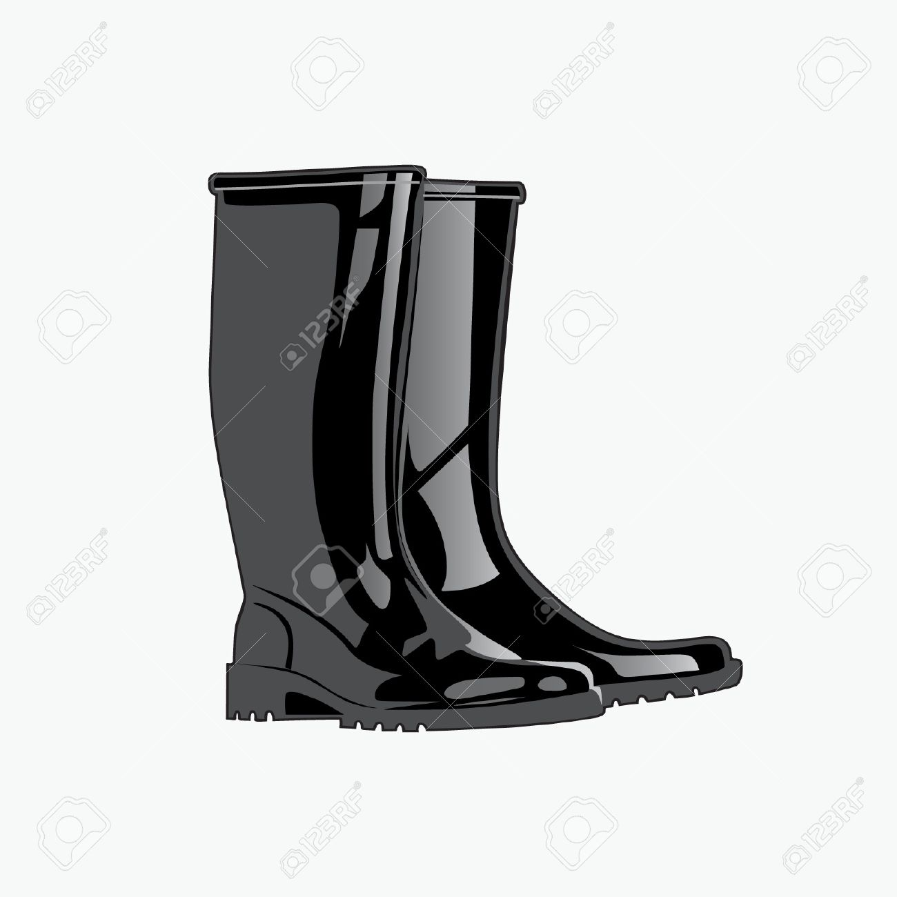 Rainboots. Royalty Free Cliparts, Vectors, And Stock Illustration.