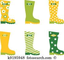 Rain boots Clip Art Royalty Free. 1,134 rain boots clipart vector.