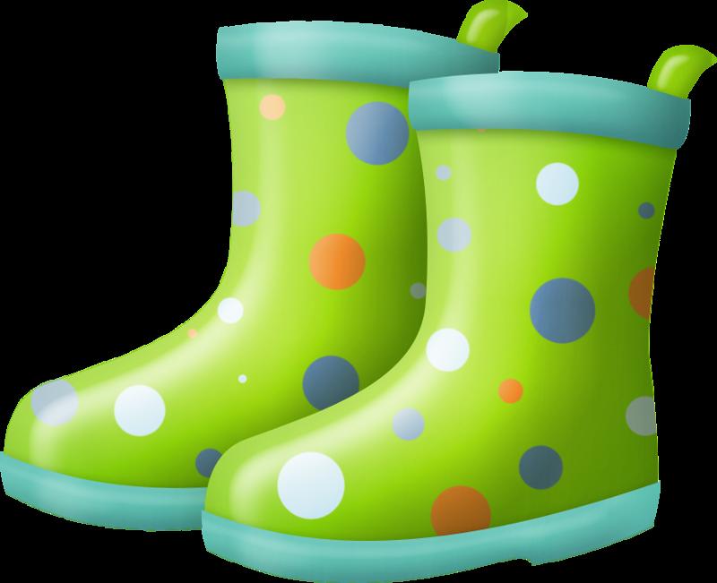 Rain boots..