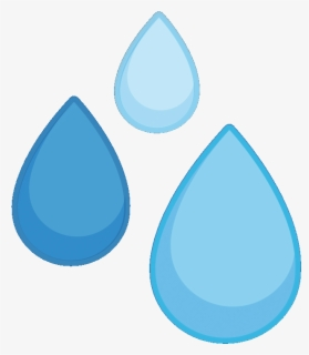 Free Rain Drops Clip Art with No Background.