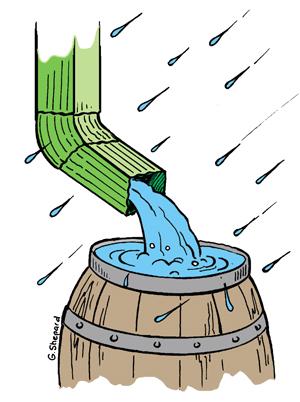 Barrel clipart rain barrel, Barrel rain barrel Transparent.