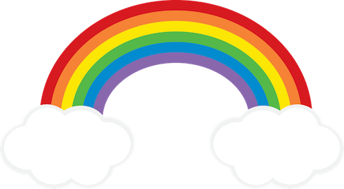 Rainbow Cloud clipart FREEBIE from GO Designs at.