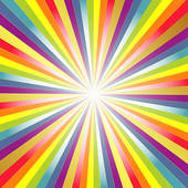 Rainbow Background Clip Art.
