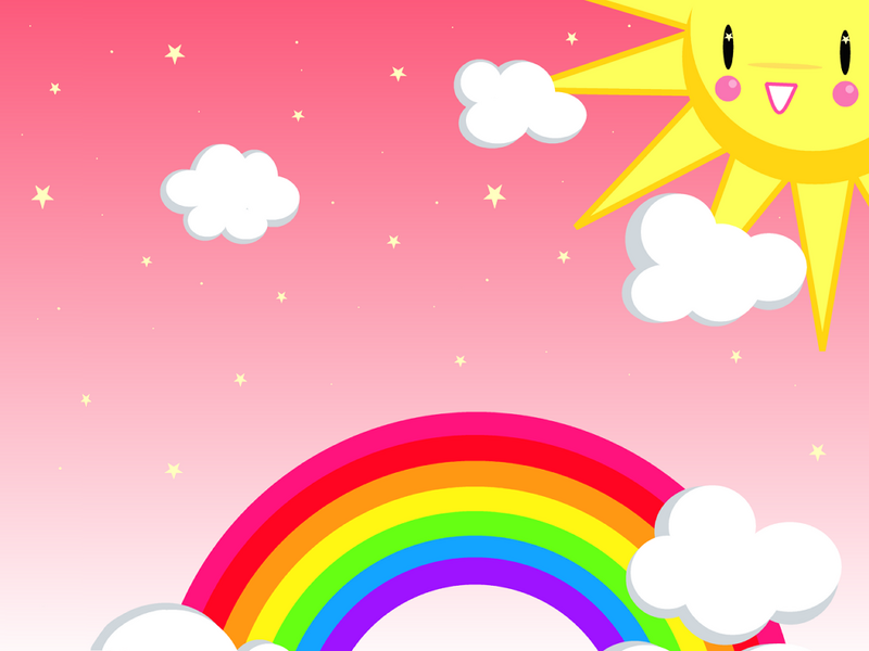 Cartoon Rainbow Images.