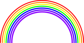 Rainbow Background Clip Art at Clker.com.