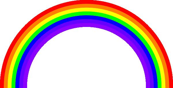 Rainbow Bridge Clipart Cartoon.