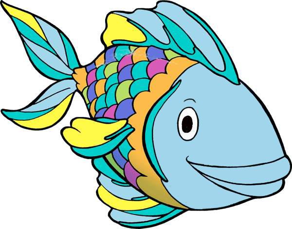 Clipart Rainbow Fish.