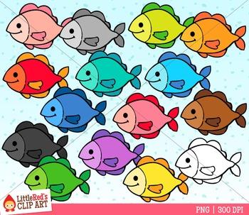 Rainbow Fish Clipart.
