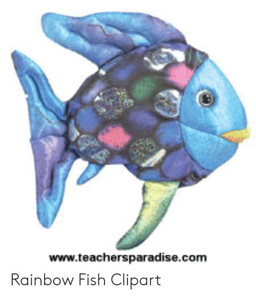 Wwwteachersparadisecom Rainbow Fish Clipart.