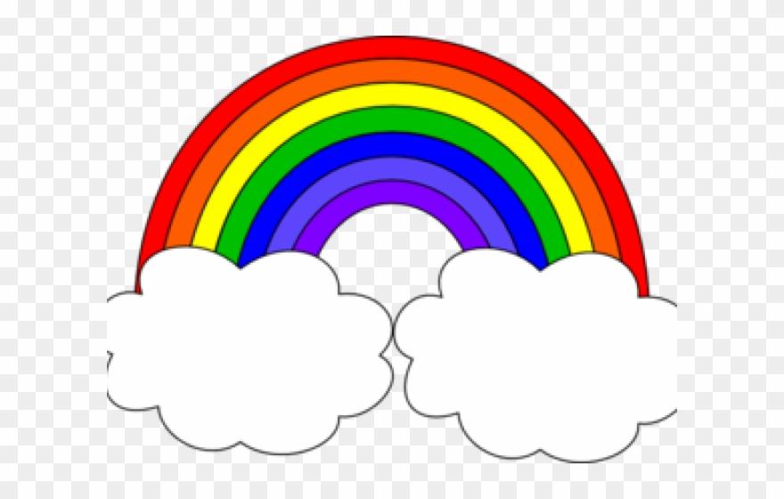 Clouds Clipart Rainbow.