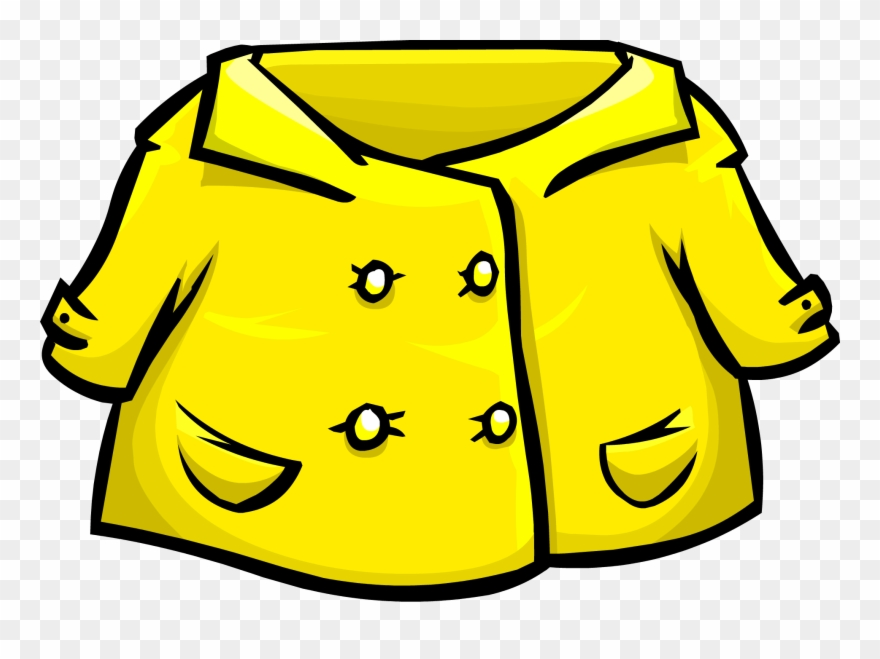 Banner Free Stock Rain Coat Clipart.