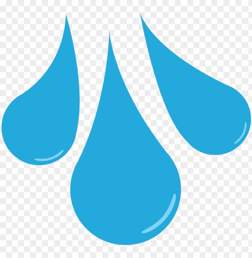 cartoon water drop clipart.