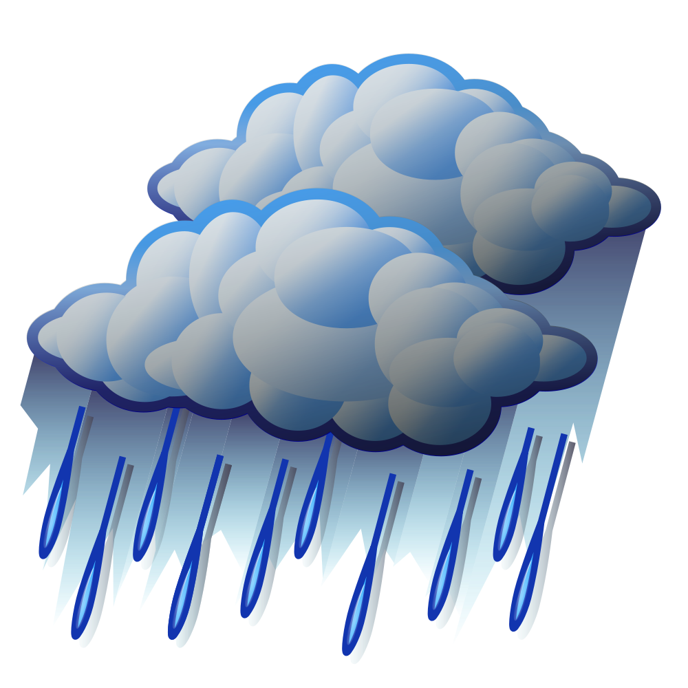 Showering clipart rainfall, Showering rainfall Transparent.