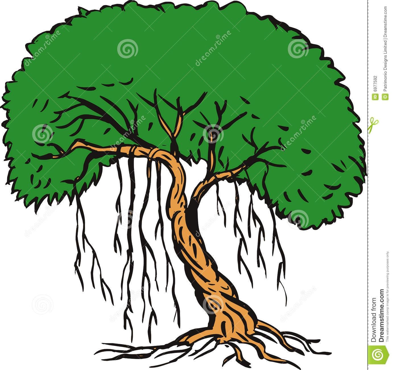 clipart rainforest tre...