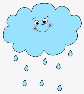 Free Rain Clouds Clip Art with No Background.