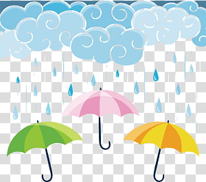 Rainy Day transparent background PNG cliparts free download.