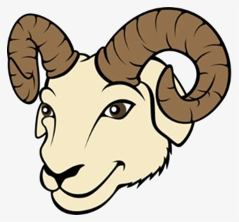 Free Ram Head Clip Art with No Background.