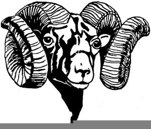 Clipart Ram Heads.