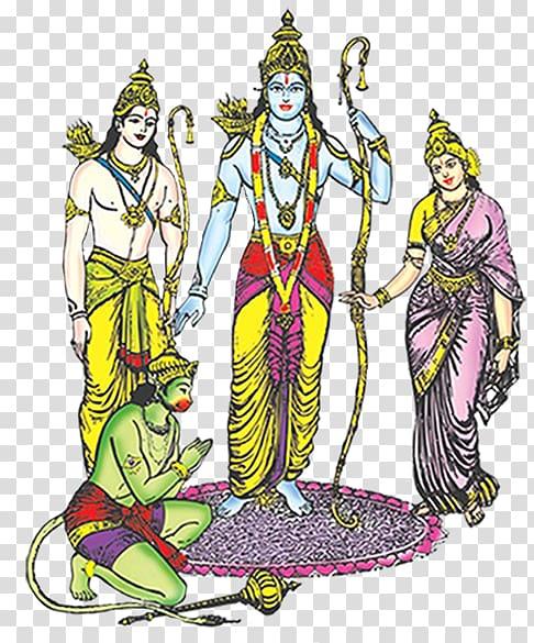Ramayan Sita Rama Navami , rama transparent background PNG.