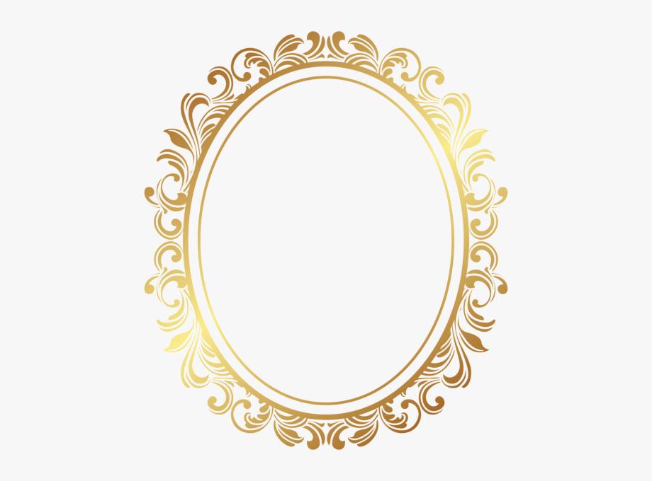 Border Deco Frame Png Clip Art Ramar.
