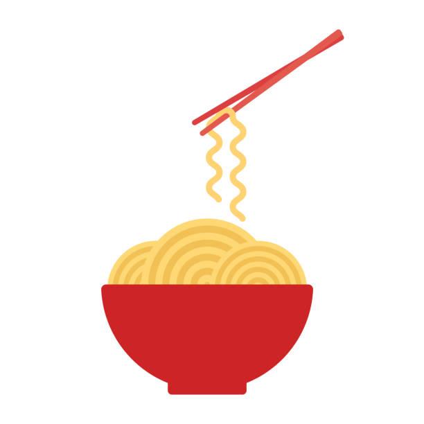 Best Ramen Noodles Illustrations, Royalty.