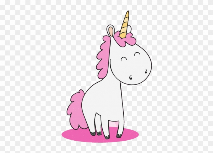 Girl Boy Unicorn Clip Art.