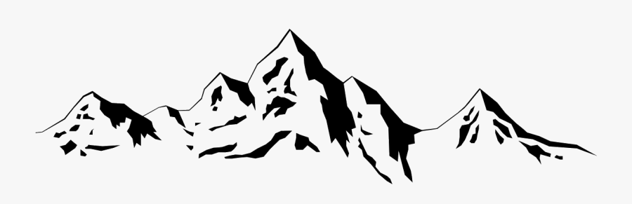 Transparent Mountain Outline Png.