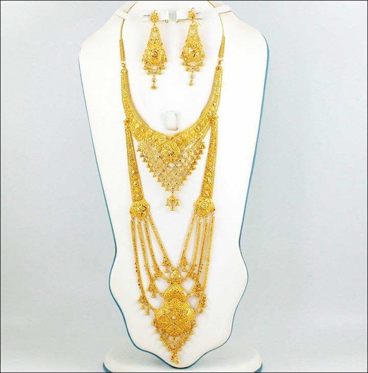 Tanishq Gold Rani Haar Price.