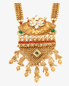 Lalitha Jewellery Gold Necklace Designs With Price, HD Png.