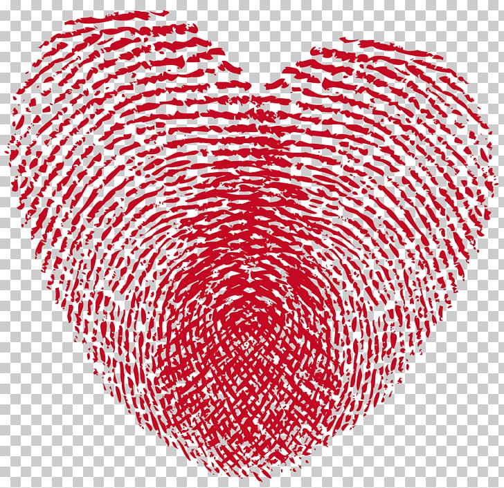 Fingerprint Heart Raster graphics , heart PNG clipart.