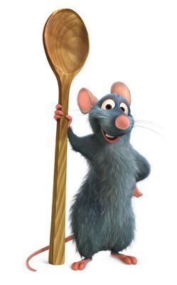 Ratatouille Clip Art and Disney Animated Gifs.