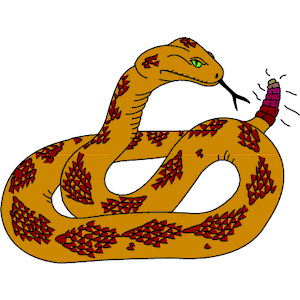 Rattlesnake clipart, cliparts of Rattlesnake free download.