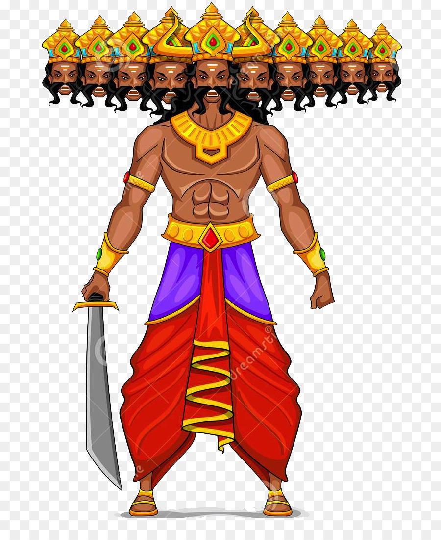 Durga Puja clipart.
