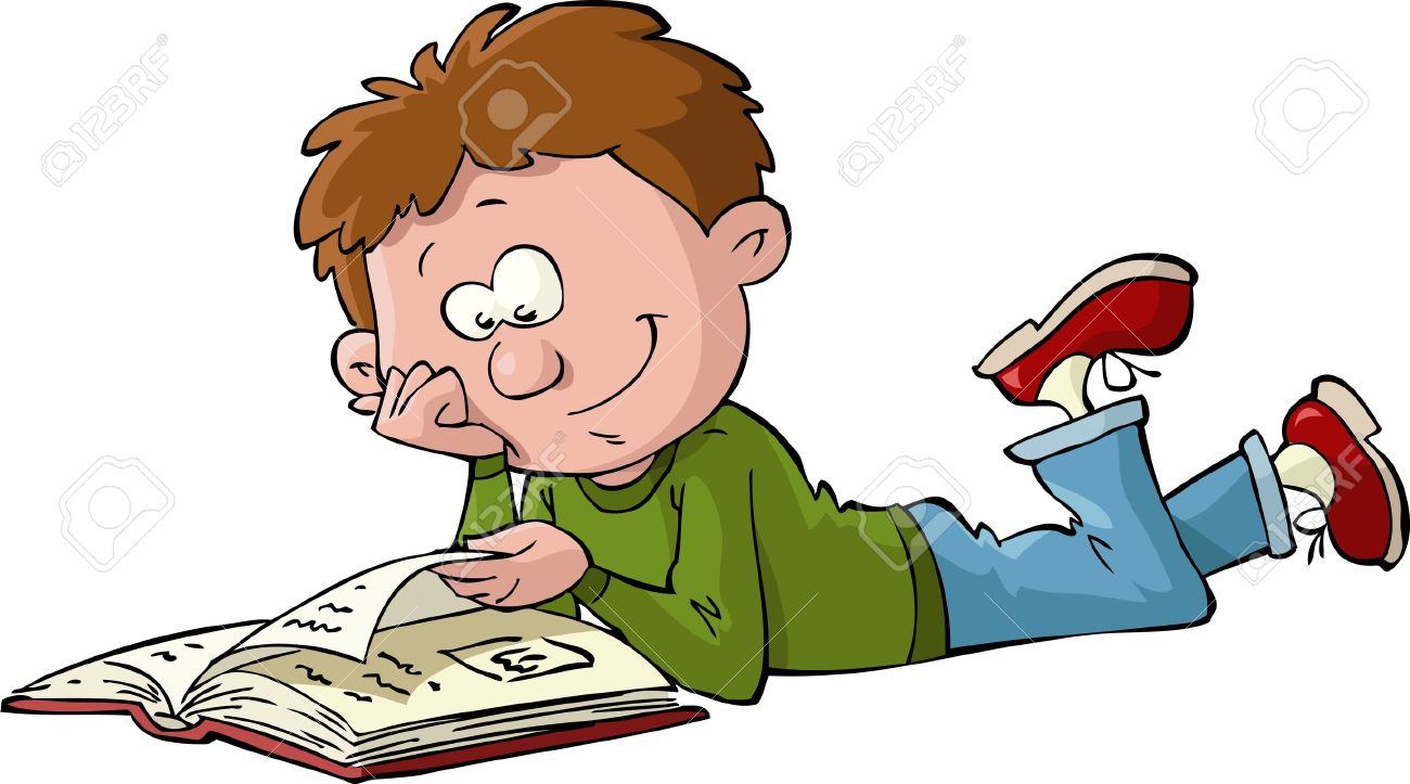 Read a book clipart 4 » Clipart Station.