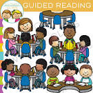 Reading groups clipart.