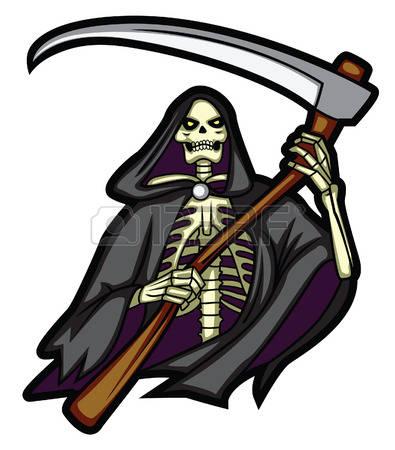 253 Grim Reaper free clipart.