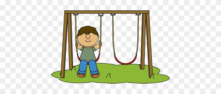 Download Free png Kid Swinging At Recess Clip Art Swing Clipart Free.